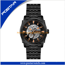 Fashion Luxusuhr New Stainess Steel Back Watch