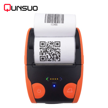 QS-5806 mini portabel bluetooth printer thermal