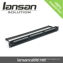 24 Port Patch Panel For Network Cabling Accessories