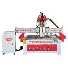 Professional Atc 1325 Woodworking Cabinet Wood CNC Router, Horizontal Spindle Door Design 3 Spindles CNC Router Machine
