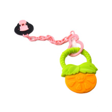 baby pacifier accessories cute beetle shape pacifier clip chain