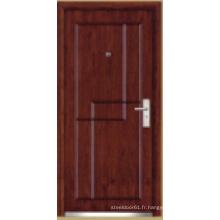 Porte blindée en bois d'acier de style turc (LTK-1102)