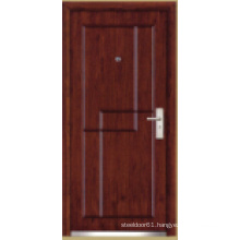 Turkish Style Steel Wooden Armored Door (LTK-1102)