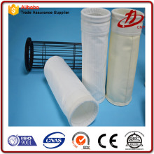 Ventilated membrane technology filter bag