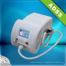 Vacuum E Light pour l'élimination des cheveux et l'équipement d'amélioration de l'acné