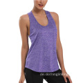 Workout Open Back T-Shirts für Frauen