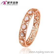 Joyería de moda rosa color lujo zircon ronda brazalete