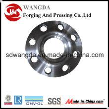Brida de acero ANSI BS DIN JIS En1092-1 carbono