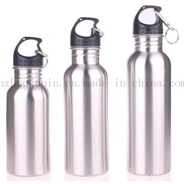 OEM Logo Advertising Sport Climbing Stainless Steel Bottle with Carabiner