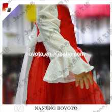 markedness red style mandarin fashion dress