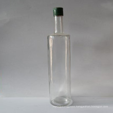 Glass Oil Bottles with Plastic Caps