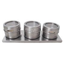 Magnetic Stainless Steel Unique Spice Jars Cruet