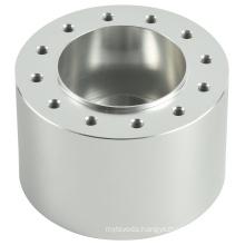 cheap factory custom Natural color anodization 12holes CNC Machining Drilling  Aluminum Wheel