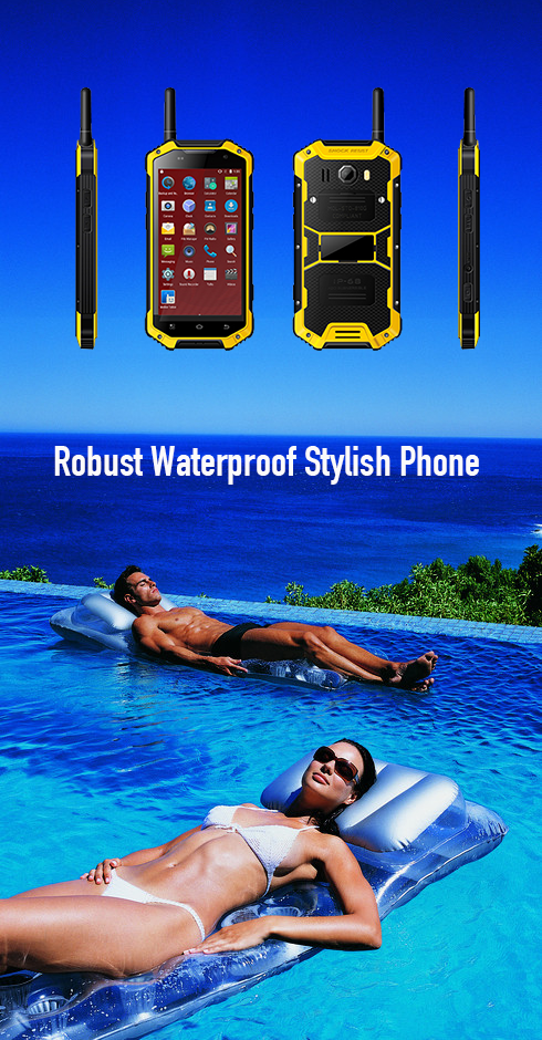 Robust Waterproof Stylish Phone
