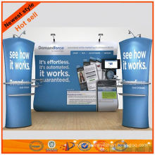 Fashionable fabrics exhibition stall stands display made in Shanghai