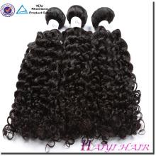 La cutícula malasia del pelo alineó las existencias grandes naturales 8A 9A 10A del pelo humano rizado