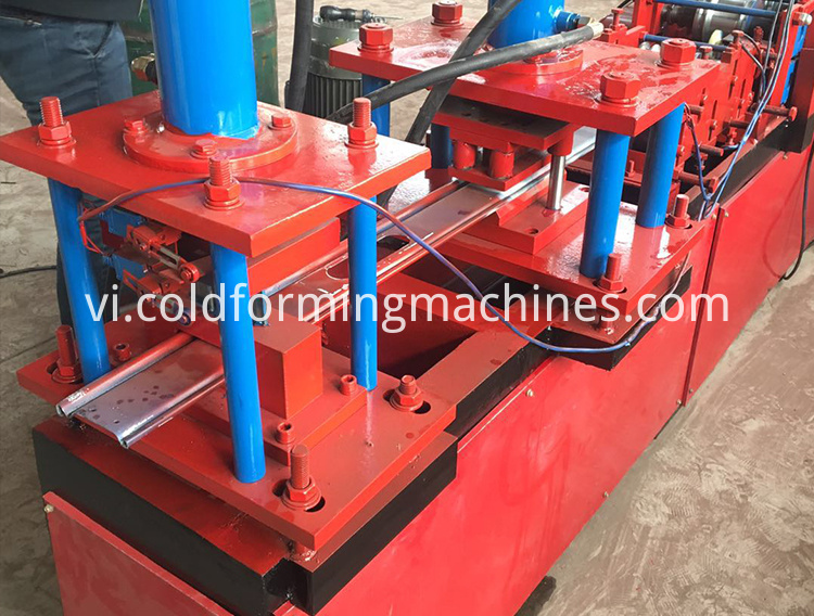 shutter door roll forming machine 14