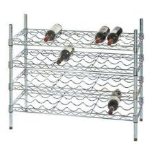 Hot Sale ajustável 9 garrafas Metal Wire cremoso rack prateleira de vinho
