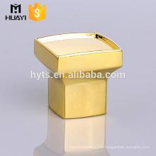 Fabriqué en Chine personnalisé bas prix parfum verre bouteille zamac casquette