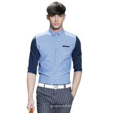 100%Cotton Men′s Formal Fashion Long Sleeves Dress Shirt