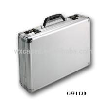 Silber Aluminium portable Laptop-Tasche mit Code-Schlösser-Großhandel