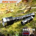 Maxtoch SN6X-7B 18650 2800LM LED fuerte 3 x cree linterna
