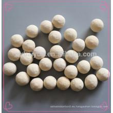 Bolas de alúmina microcrystal Bola de alúmina de tamaño medio