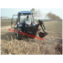Mini Digger LW-7 powered by Tractor