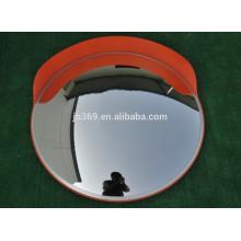 Shatterproof traffic safety outdoor convex mirror