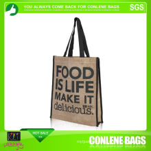 Jute Tote Bag for Gift (KLY-JT-0004)