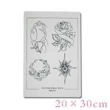 2016 hot sale fake skin for tattoo practice