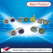 Mancuerna de reloj personalizado con su propio diseño