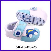 Zapato de bebé cómodo de la tela del nuevo producto