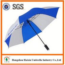 Prix pas chers! Approvisionnement d'usine clairement parapluie avec poignée Crooked