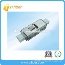 MU одномодовый симплексный оптоволоконный адаптер