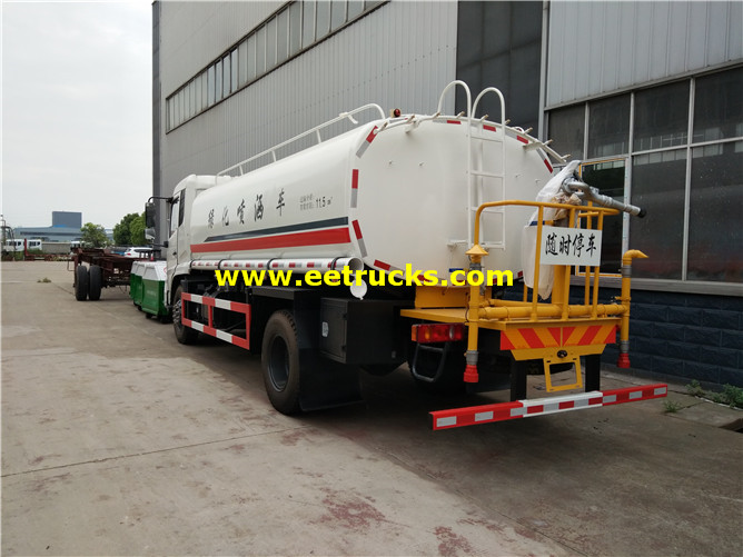 15000L Street Water Tanker Vehicles