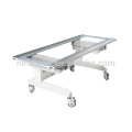 x ray radiology table with cassette tray