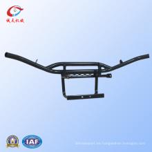 ¡Partes del ATV! Triciclo de guardia delantera con acero