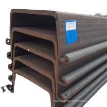 River training hot rolled sheet pile U steel sheet pile made in China
