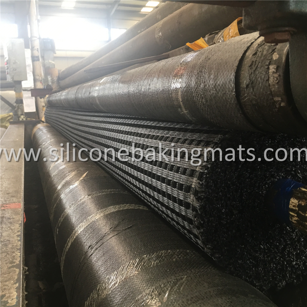 High Strength Uniaxial Pet Geogrid
