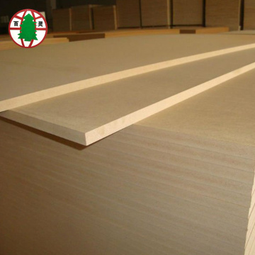 High density raw mdf board for furniture