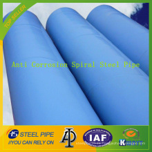 Tubo de acero espiral anti-corrosión