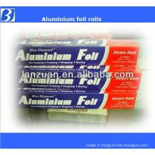 rouleau de papier d'aluminium alimentaire emballage