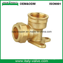 OEM & ODM Qualité Brass Forged Compression Wall Pallet Elbow (AV70026)