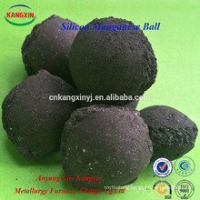 High Purity Black Brown Silicon Manganese Ball/Briquette for Steelmaking