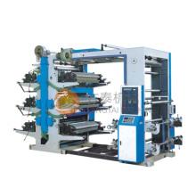 Machine d'impression Flexo à six couleurs