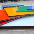 20 ans de garantie 3mm / 4mm Alunewall FEVE brillant couleur aluminium panneau composite facorty vente directe