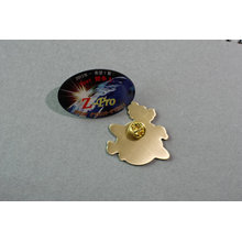 Offset Printed Badge, Custom Brass Epoxy-Dripping Badges (GZHY-YS-041)