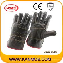 Темная мебель из натуральной кожи Промышленная безопасность рабочих перчаток (31012)