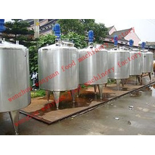 Stainless Steel Liquid Mixing Tank Blending Tank Agitating Tank